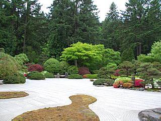 Japanischer Garten im Washington Park. © LWY