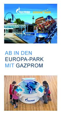 Gewinnspiel Gazprom