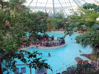 Erlebnisbad im Center Parcs Ferienpark